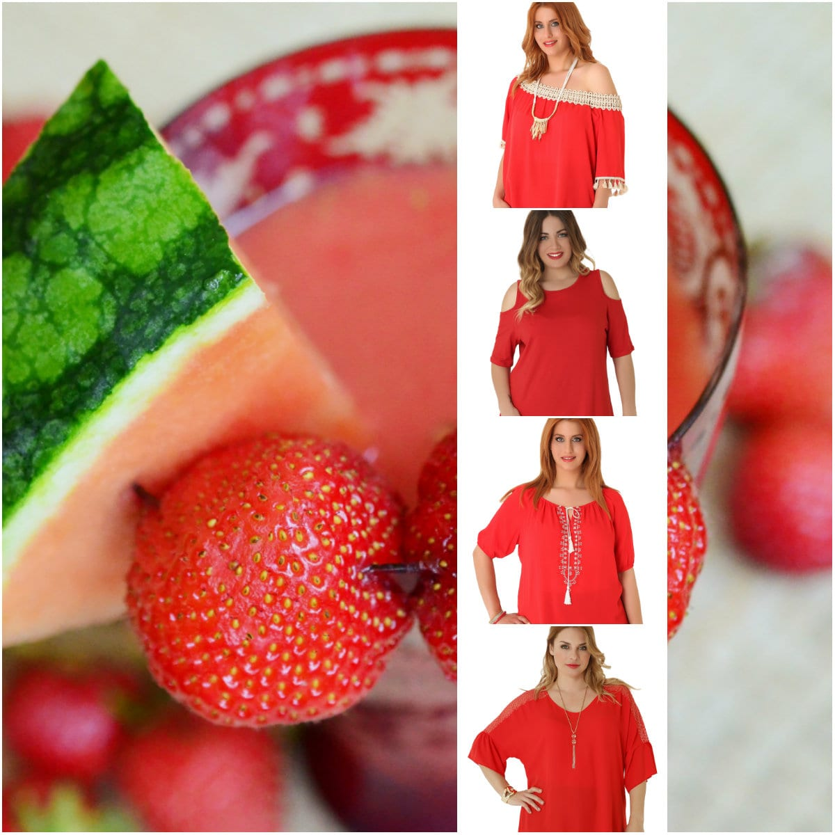 Watermelon - Red Tops