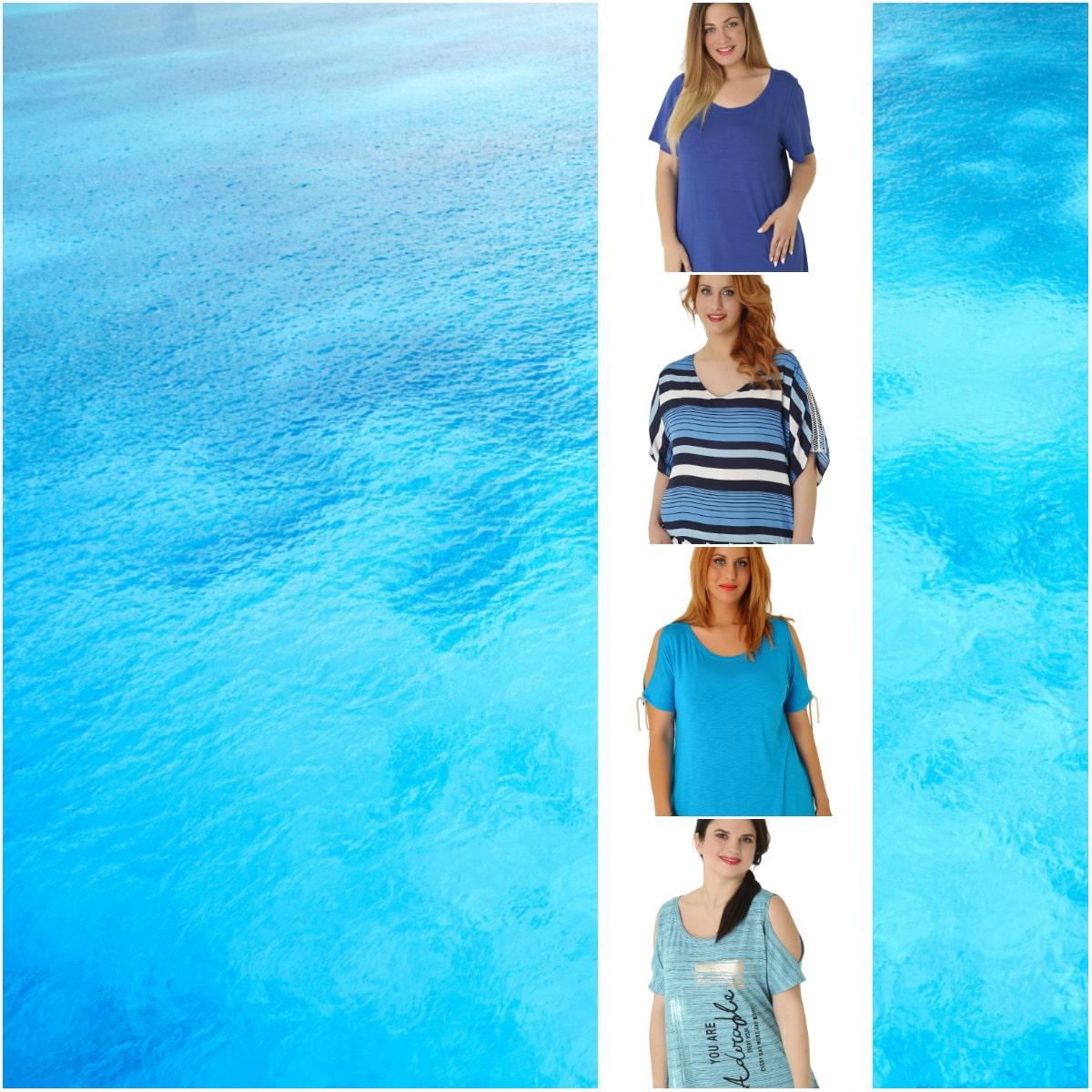 Sea breeze - Blue Tops