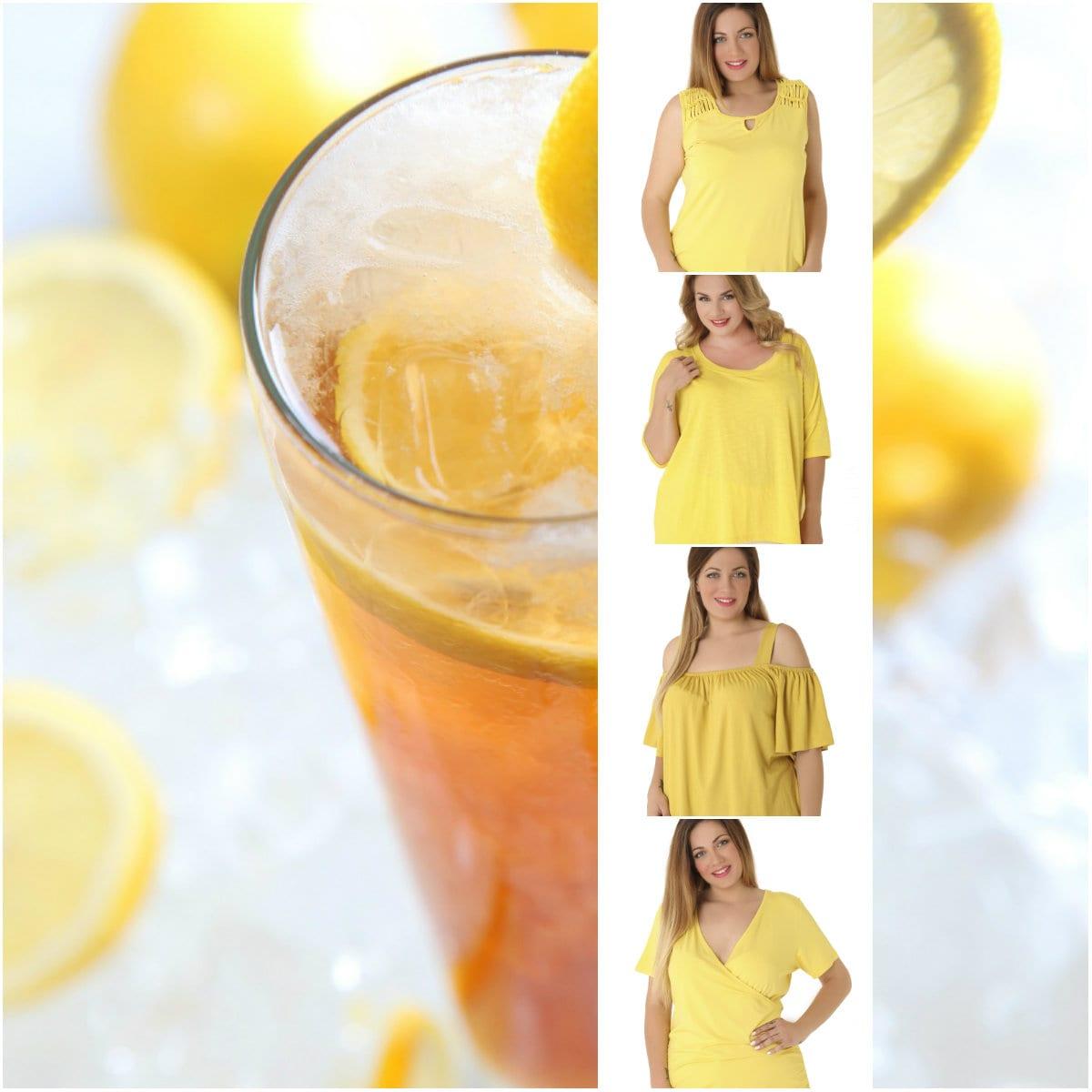 Lemon colors - Yellow tops