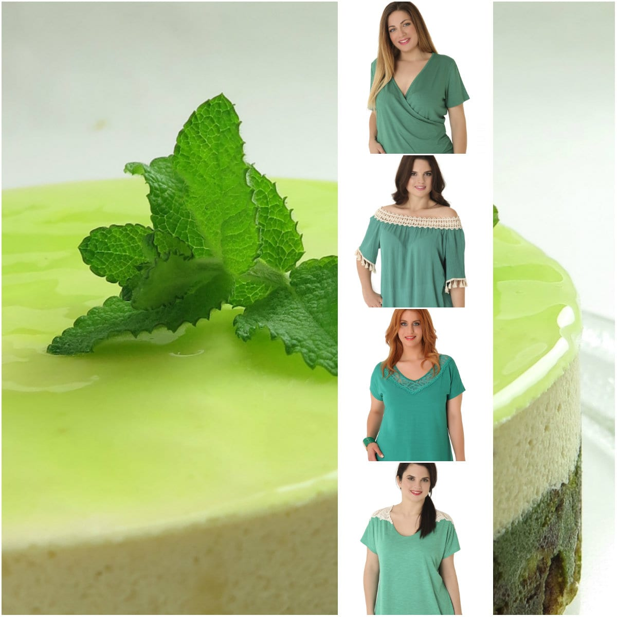 Mint fresh - Green Tops