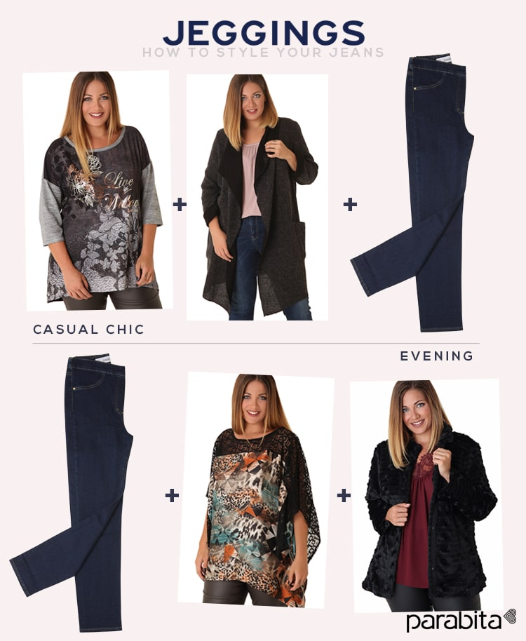 Jeggings - how to style your jeans