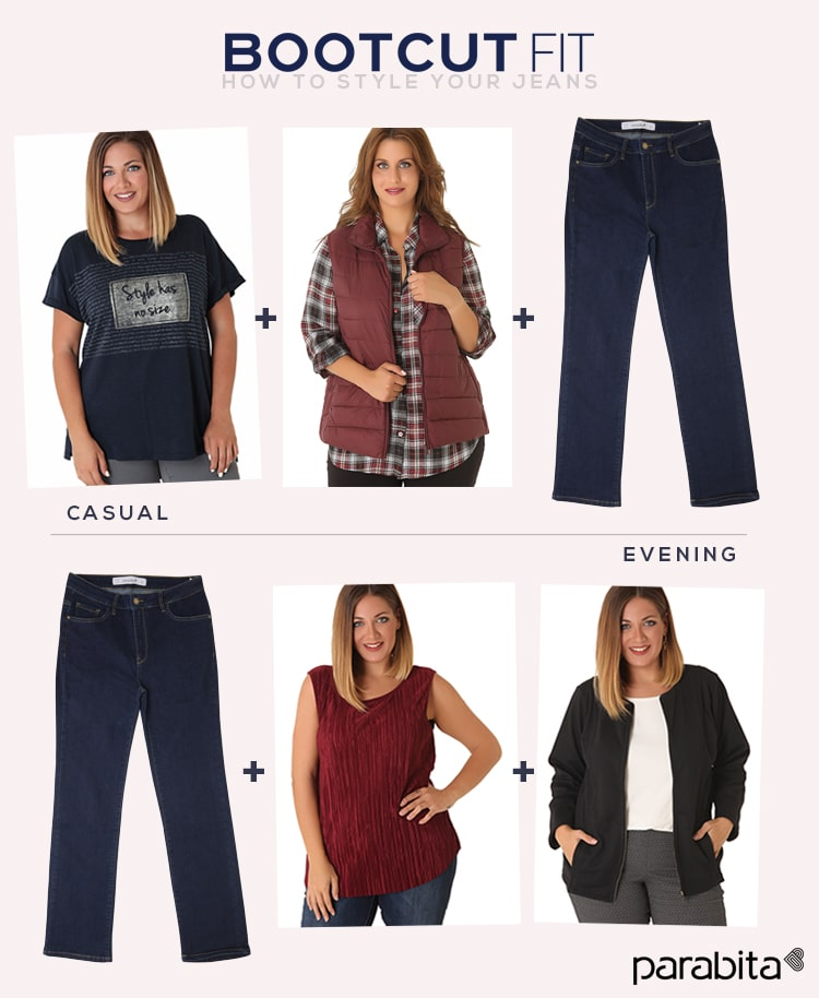 bootcut jeans styling