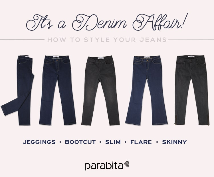 denim affair - how to style your jeans
