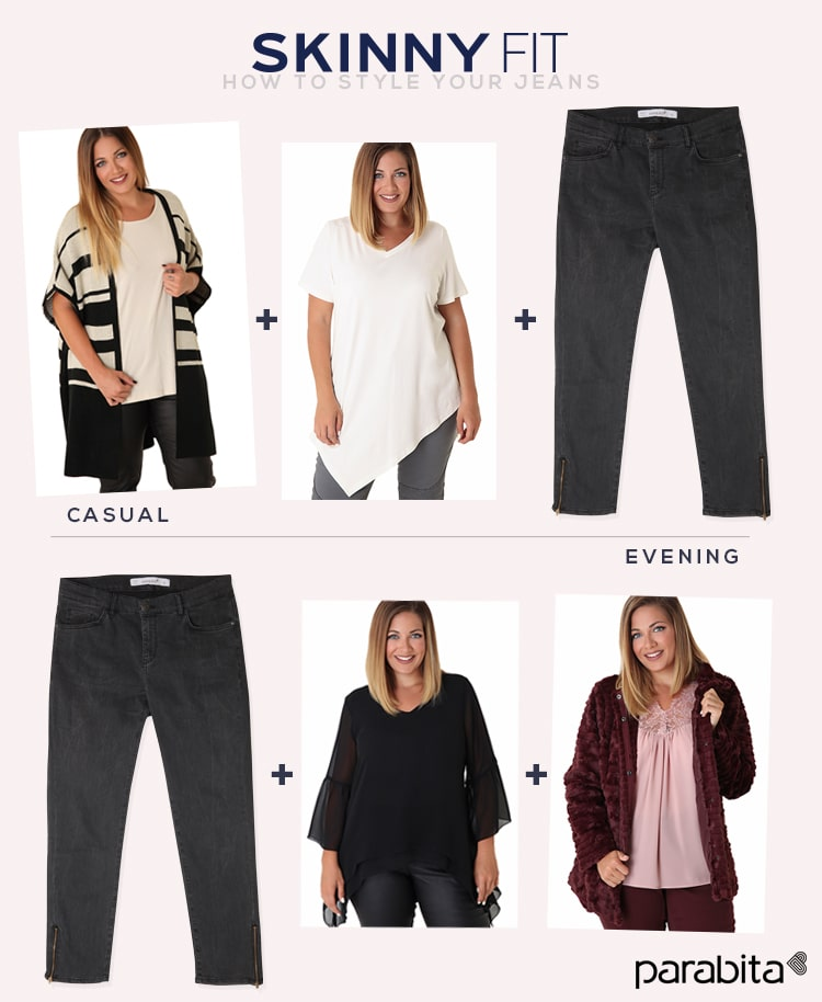 skinny fit - how to style your jeans