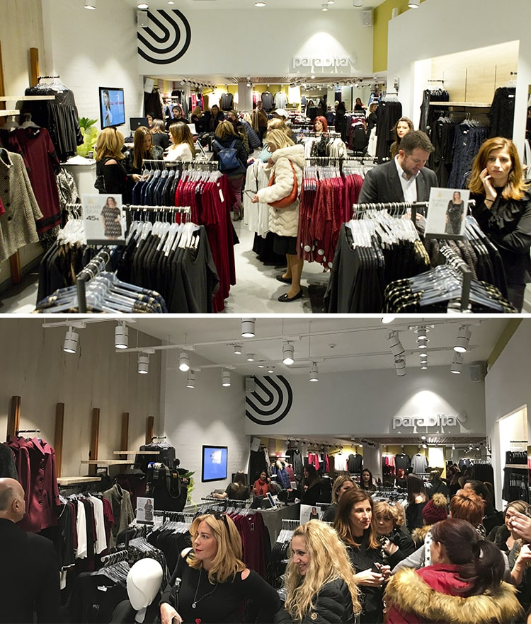 Thessaloniki Parabita opening - new store