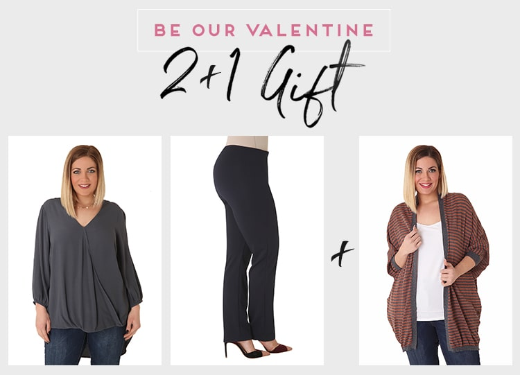 Be our Valentine 2+1 - A Classy Choice