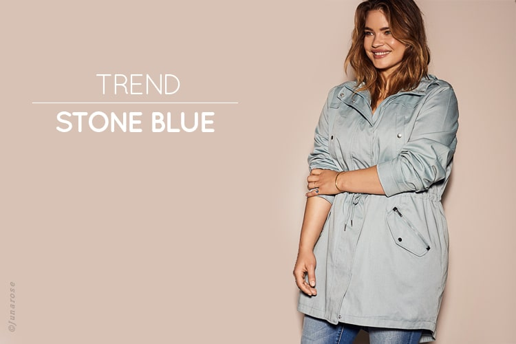 Season's leading trends - New Pastels, Stone blue
