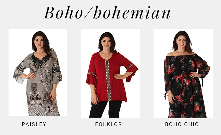 Boho - Fashion Terminology