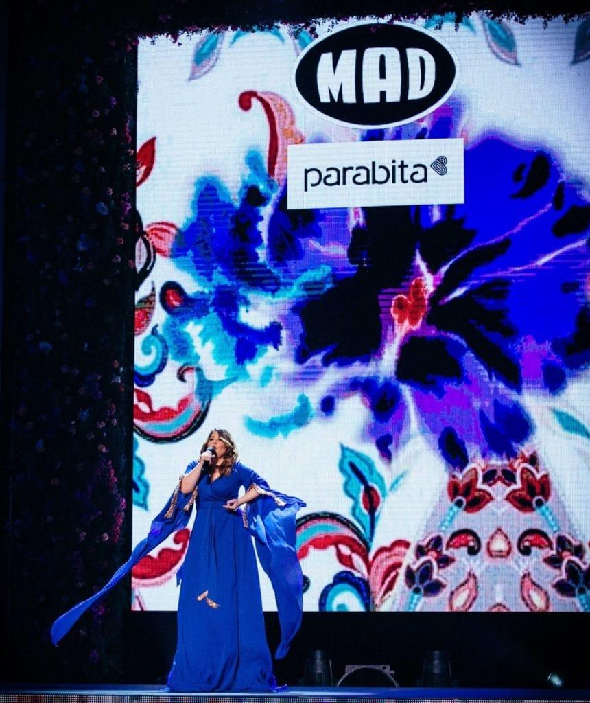 Η Parabita στο Catwalk του Madwalk 2019 By Serkova Crystal Pure