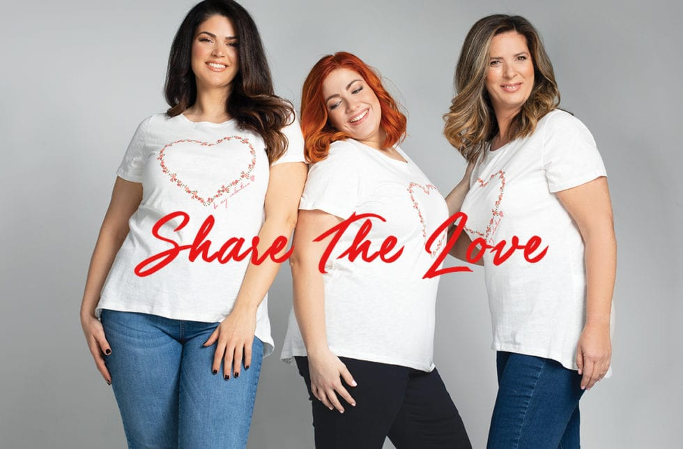 Share the love- Valentine's Tshirt Parabita