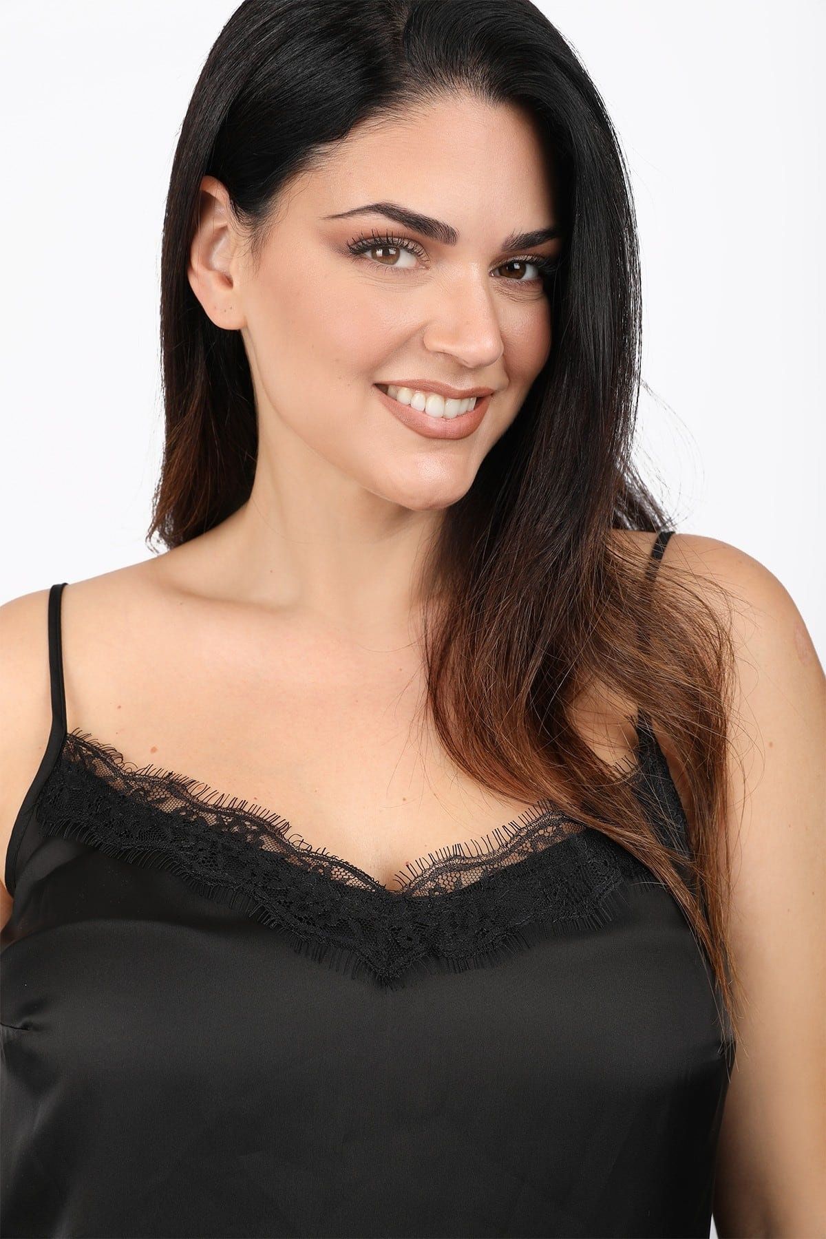 Lingerie τοπ με δαντέλα.