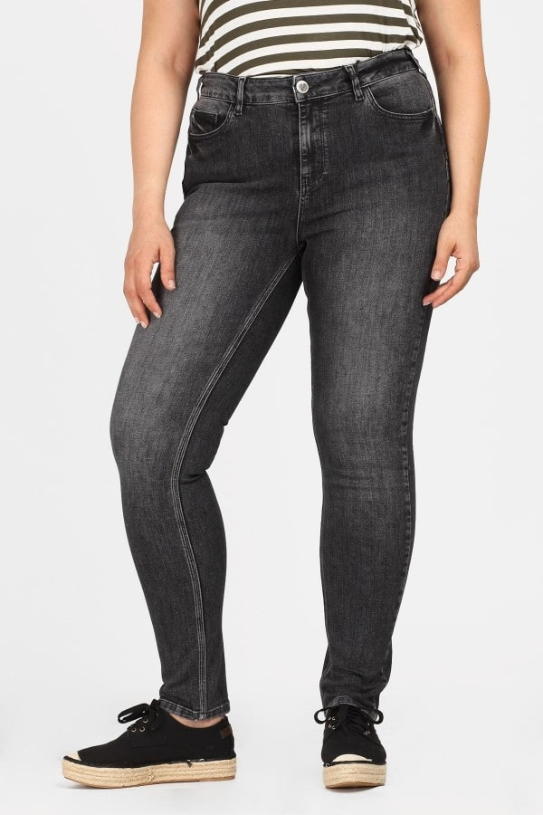 Push-up jeans rinse wash
