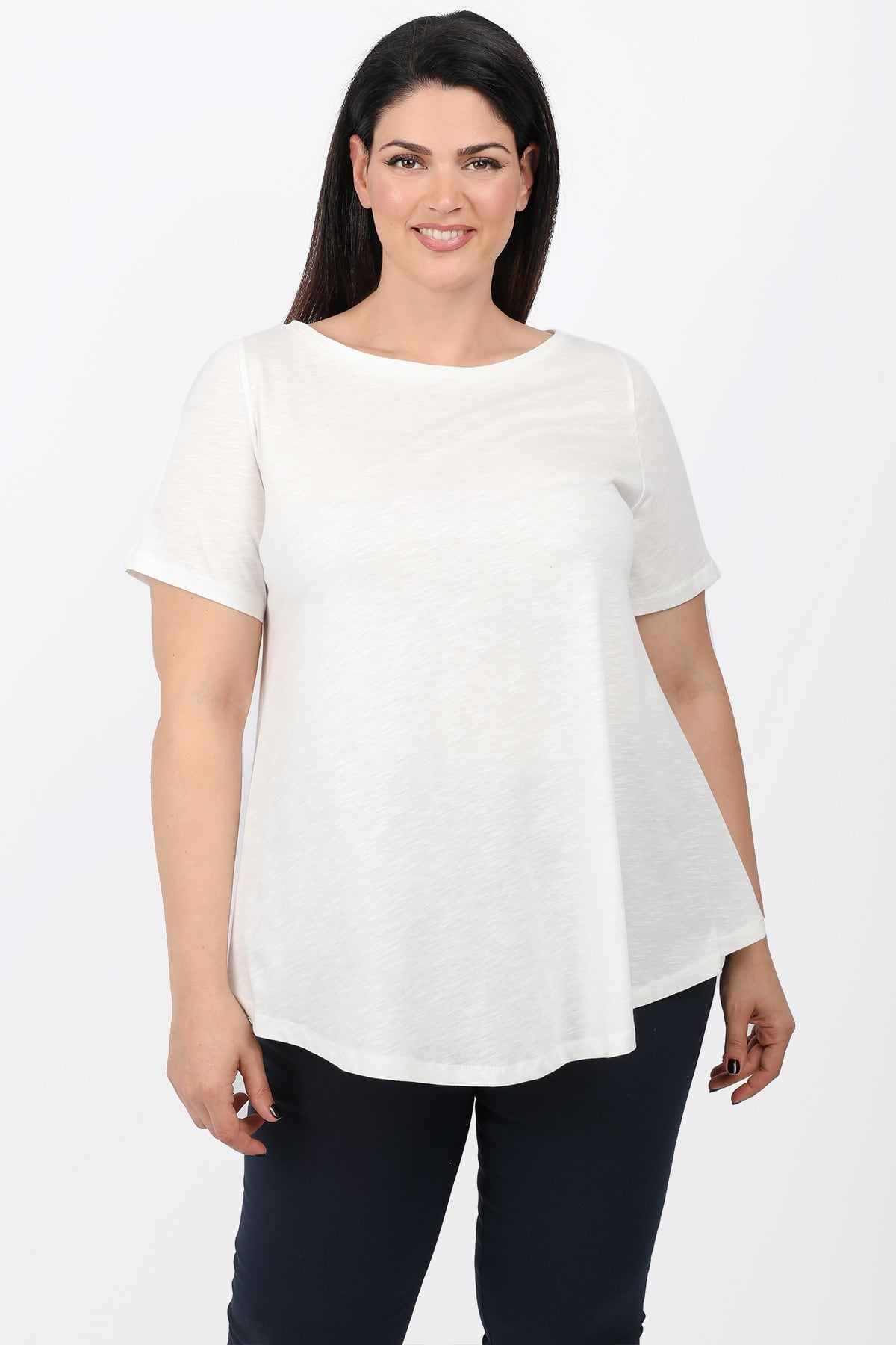 Basic A-line blouse