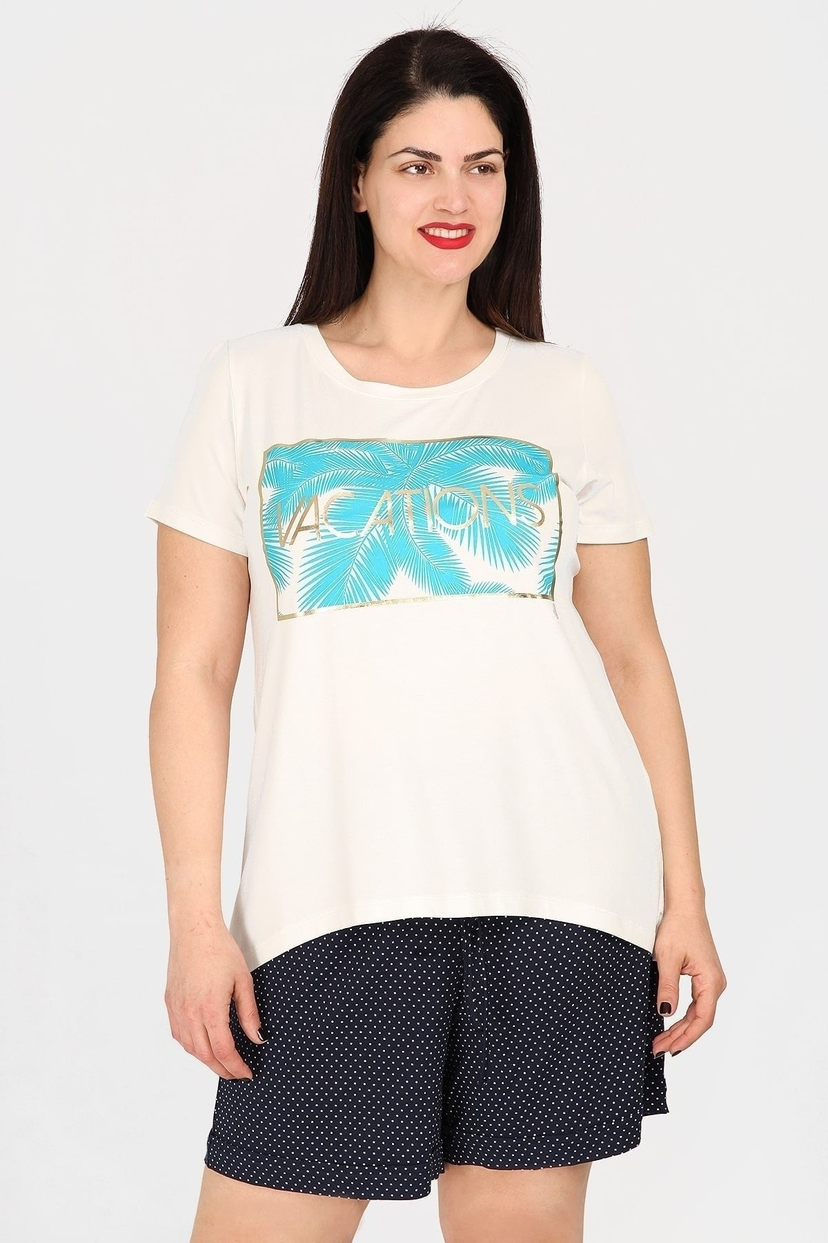 Top with logo VACATIONS