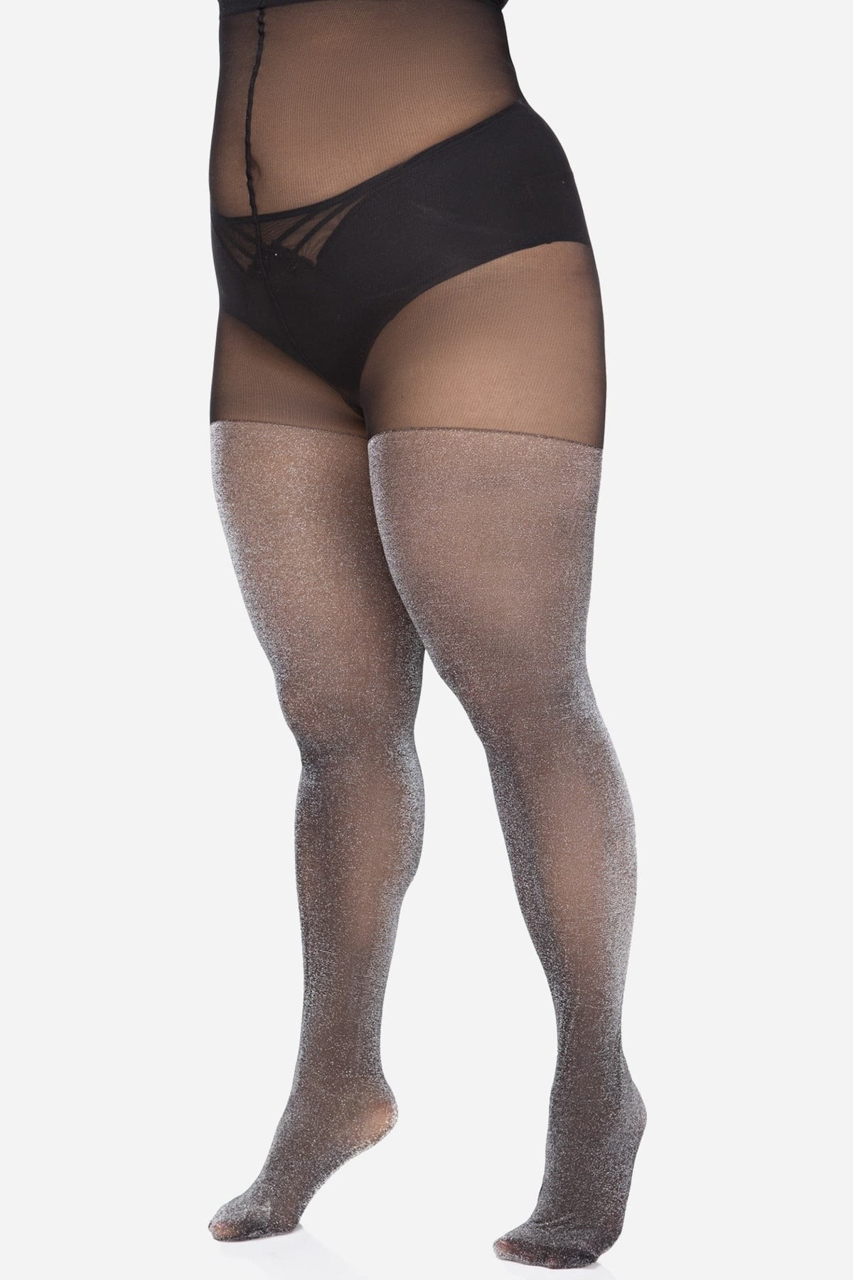 Lurex tights 30 DEN