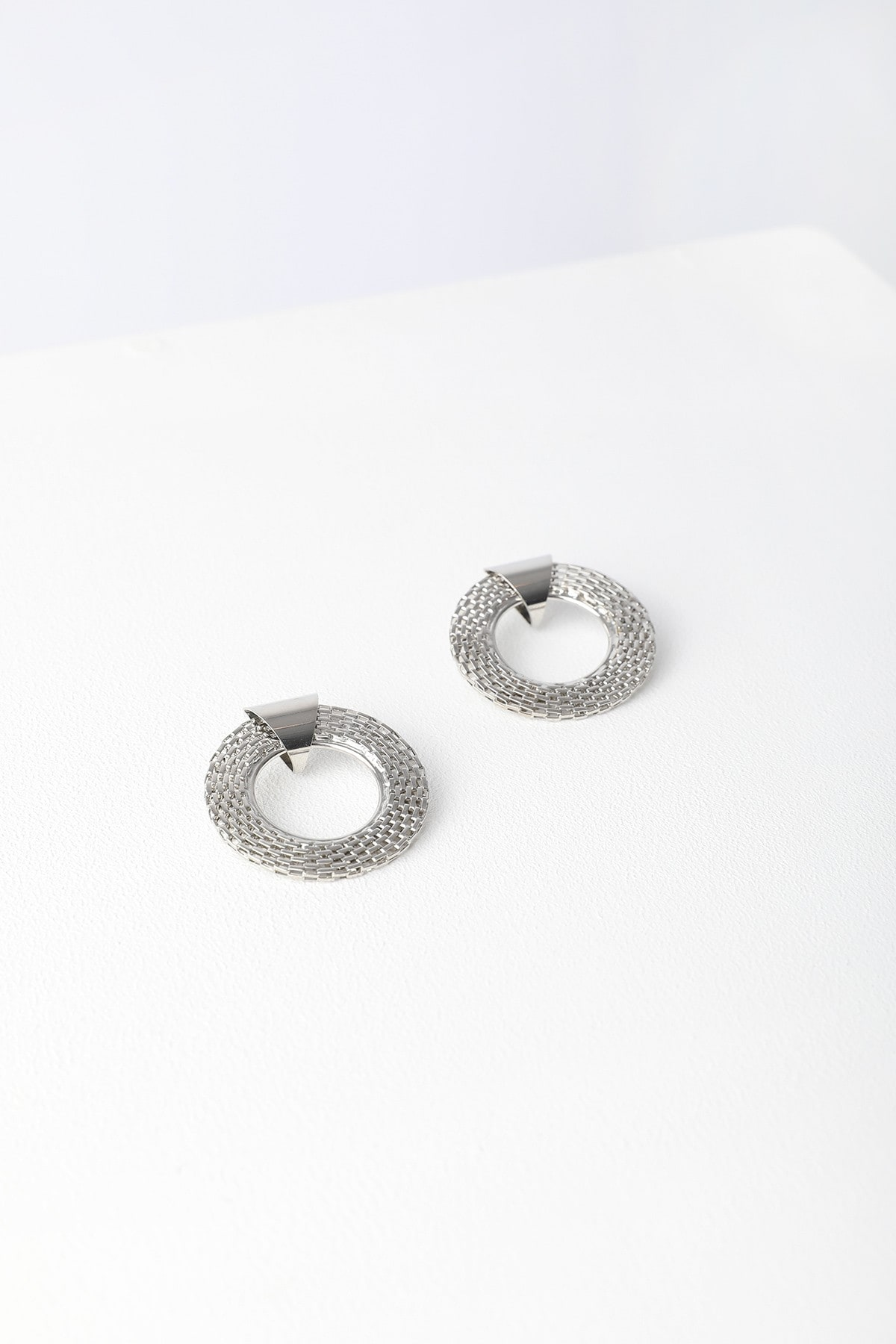 Circles earrings with internal design