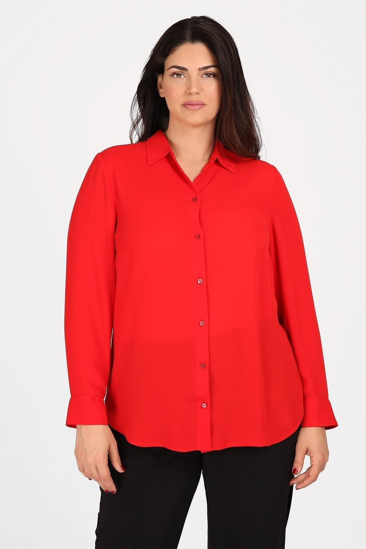 Elegant shirt-blouse