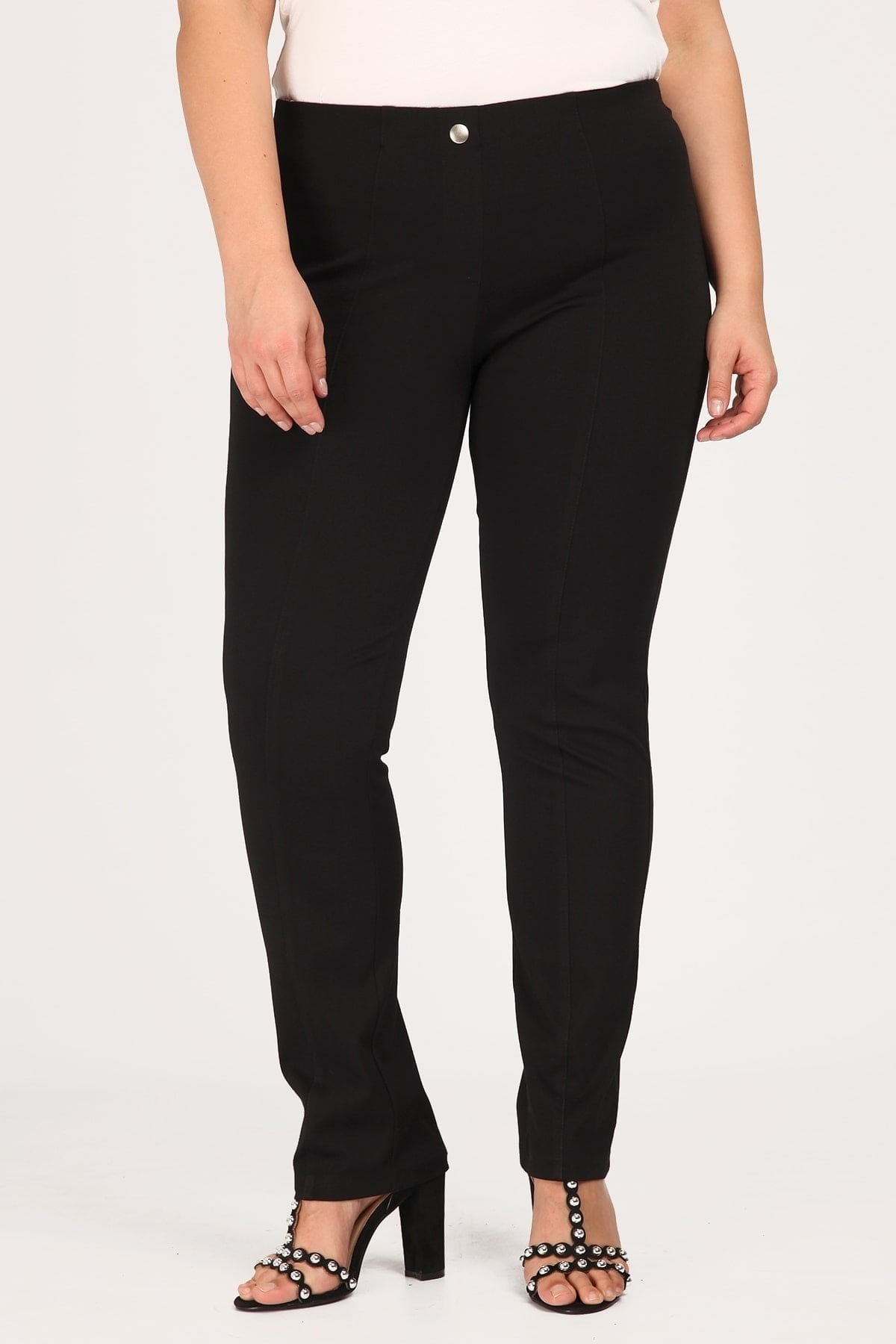 Straight-cut treggings