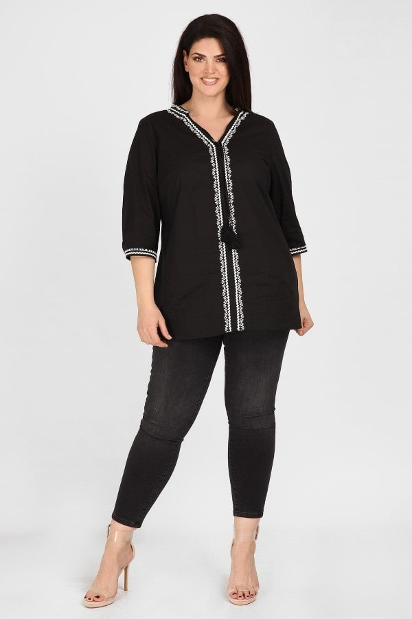 Broderie anglaise tunic