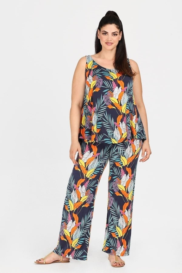 Tropical jersey trousers