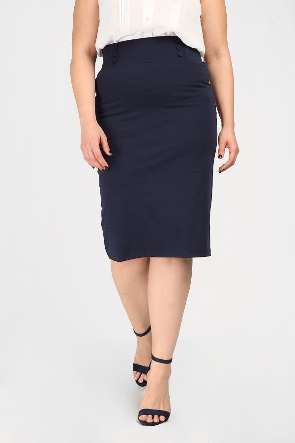 Pencil energy stretch skirt