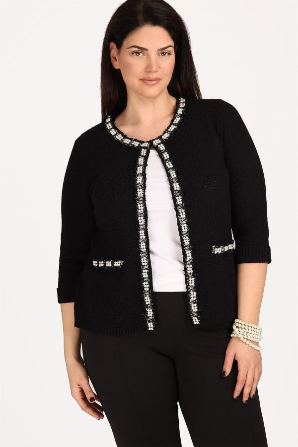 Cardigan Chanel with pearls