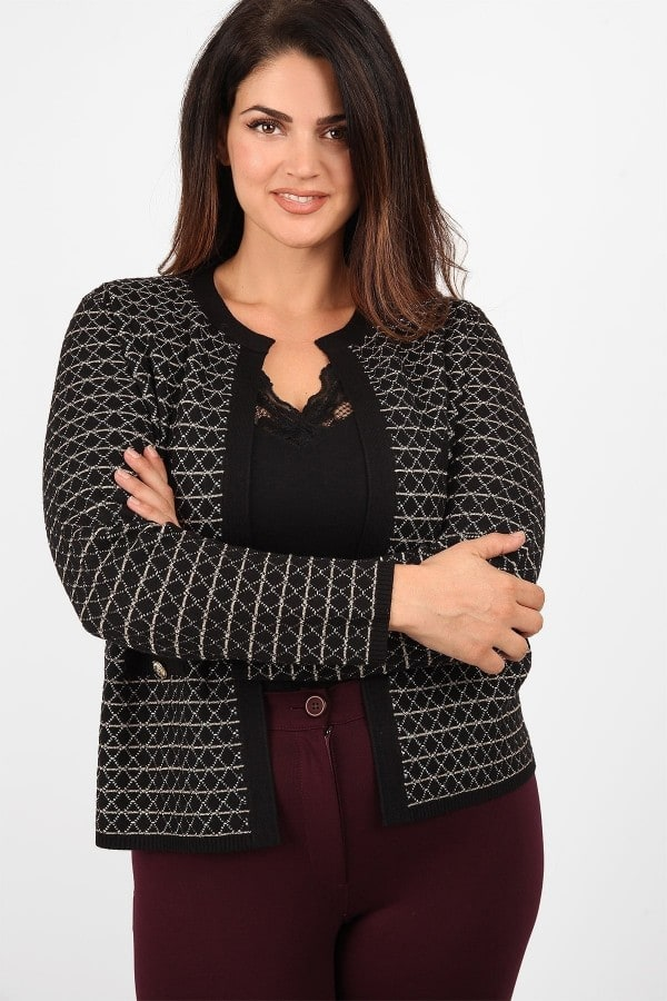 Cardigan Chanel with lurex