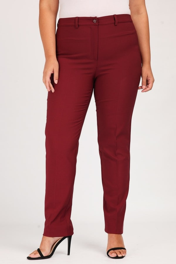 Classic crepe trousers