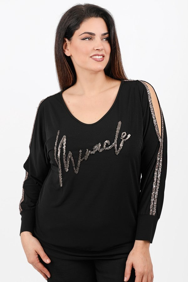 Blouse MIRACLE from sequins