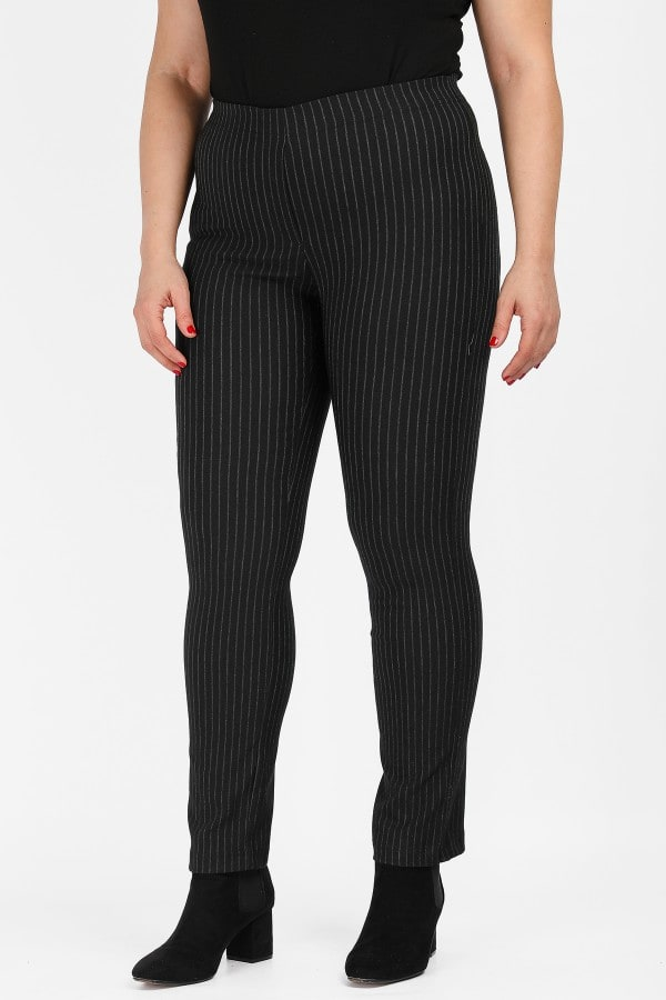 Bengaline stripe treggings