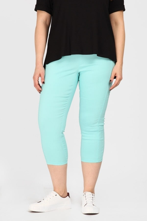 Stretchy capri treggings