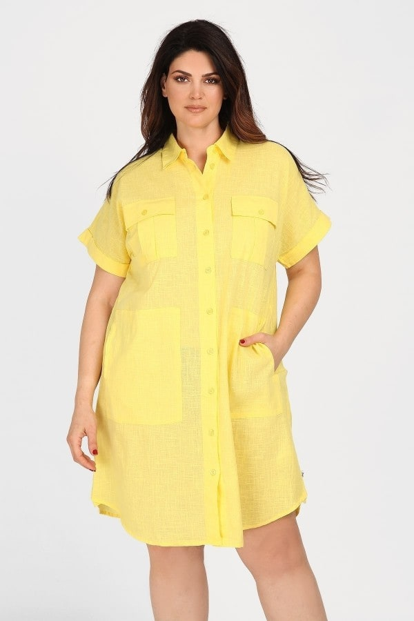 Cotton longline shirt