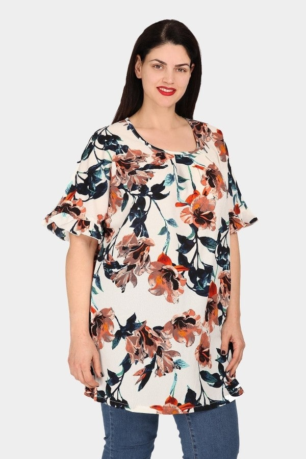 Floral tunic