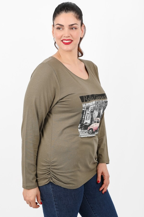 Longsleeved top with logo