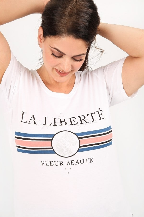Shortsleeved blouse LA LIBERTE